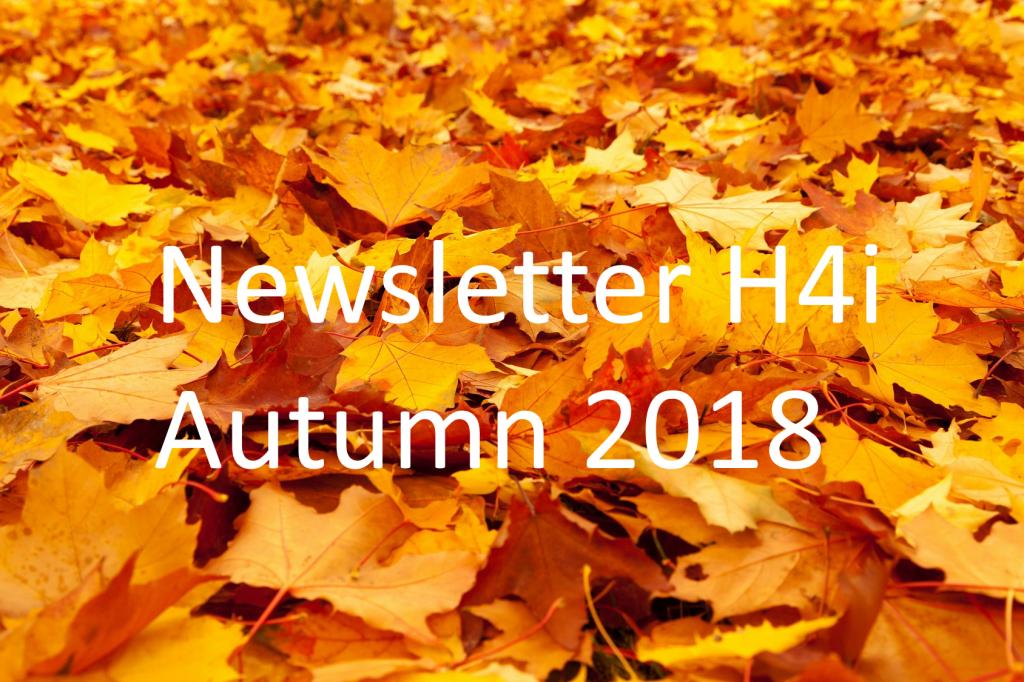 Newsletter Autumn 2018