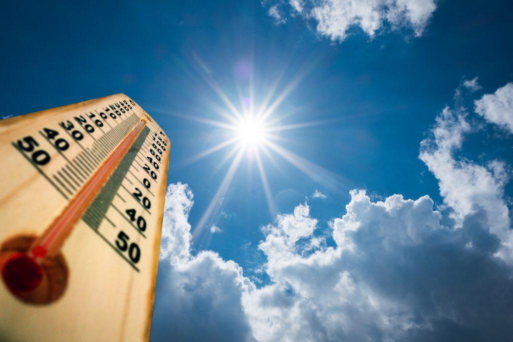Hot weather advice